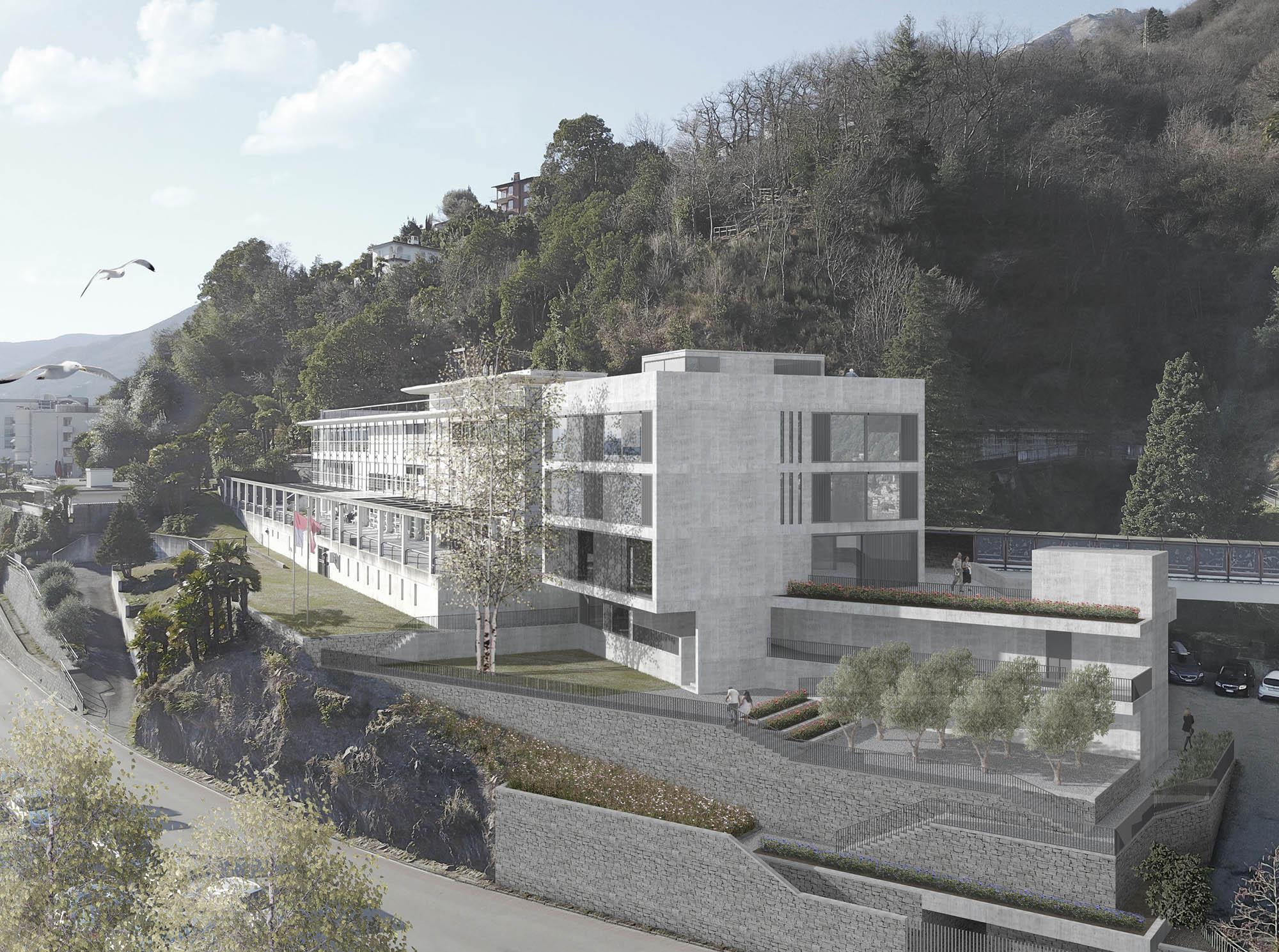 Finest istituto miralago with case da architetti for Case progettate da architetti