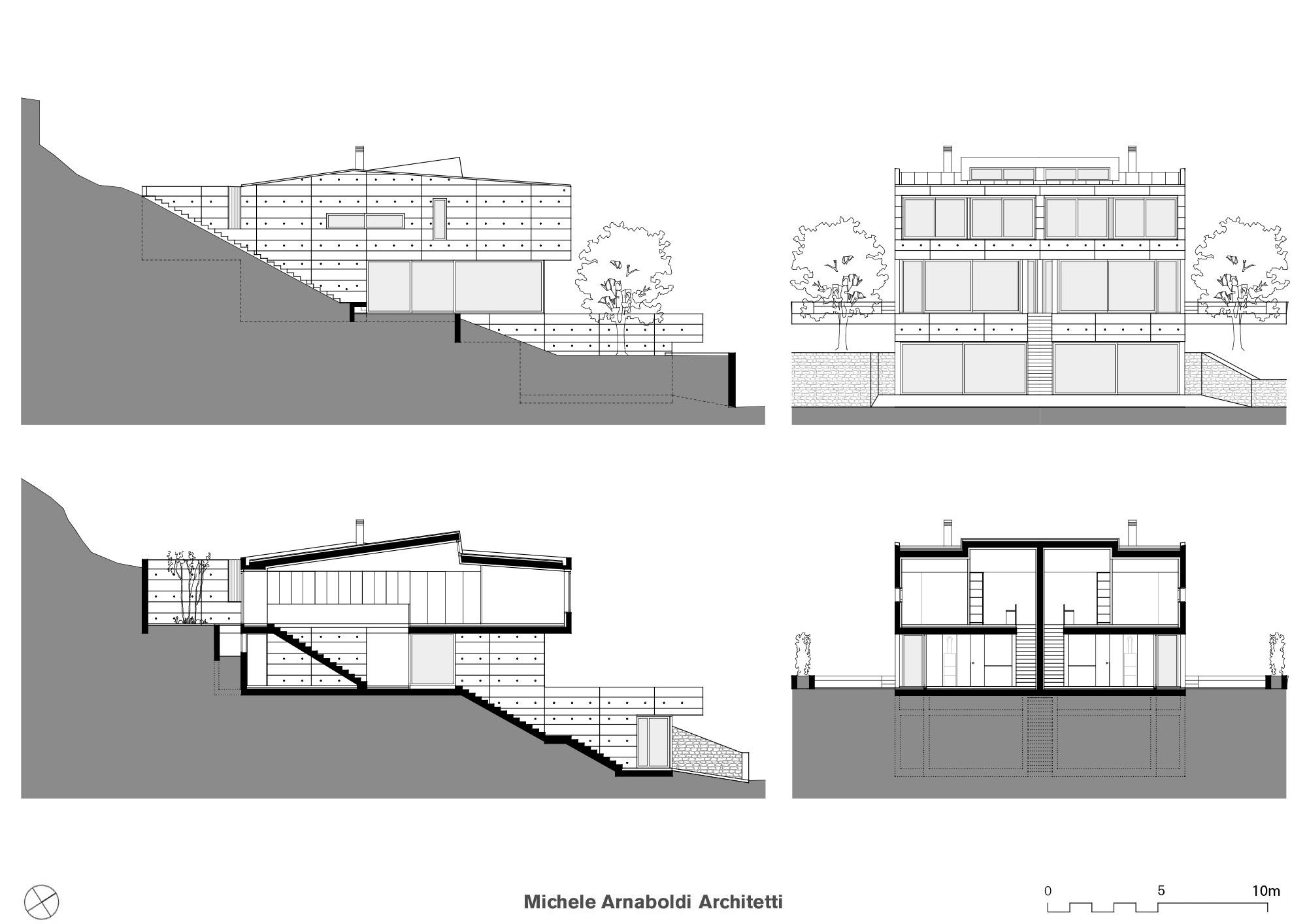Casa bifamiliare - Progetto casa fossato di vico ...